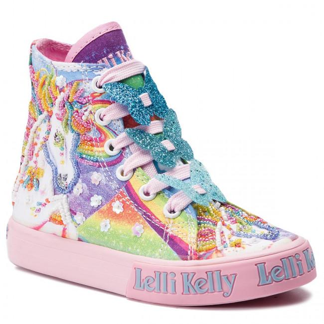 lelli kelly unicorn hi tops