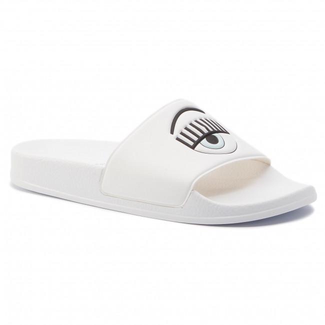 prezzo di fabbrica ben noto belle scarpe Slides CHIARA FERRAGNI - CF2450 White - Casual mules - Mules ...