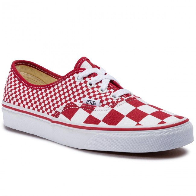 Plimsolls VANS Authentic VN0A38EMVK51 (Mix Checker) Chili Peppe
