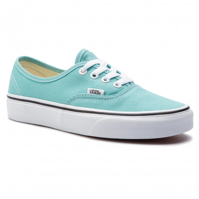 vans authentic aqua green