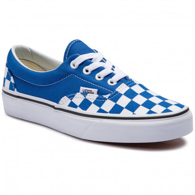 Plimsolls VANS Era VN0A38FRVOU1 (Checkerboard) Lapis Blue