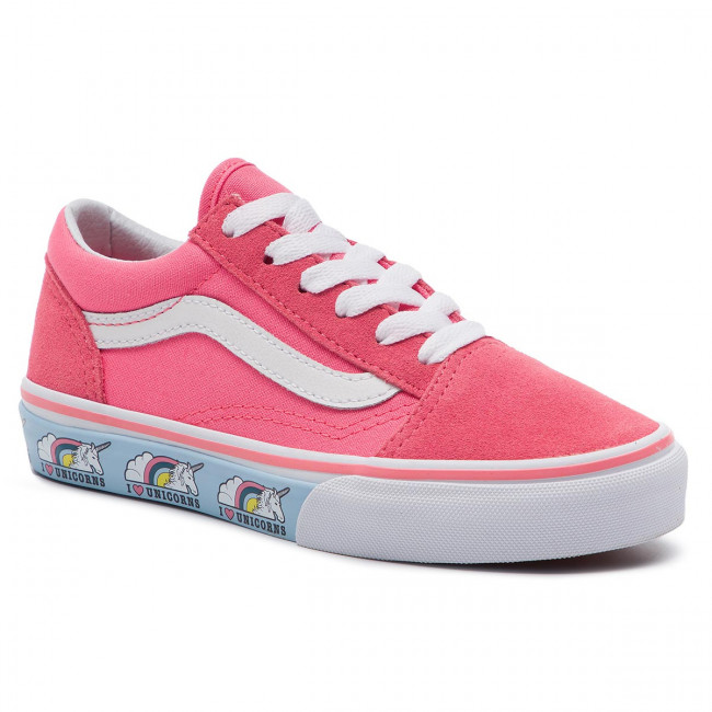 Vans Old Skool kids shoes pink