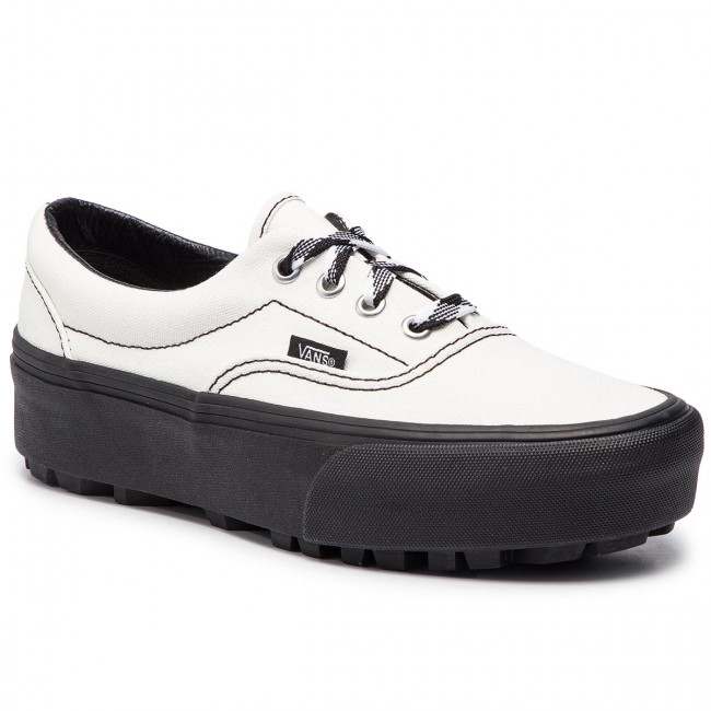 Plimsolls VANS - Era Lug Platform VN0A3WLTVPU1 (90s Retro) Cloud Dancer