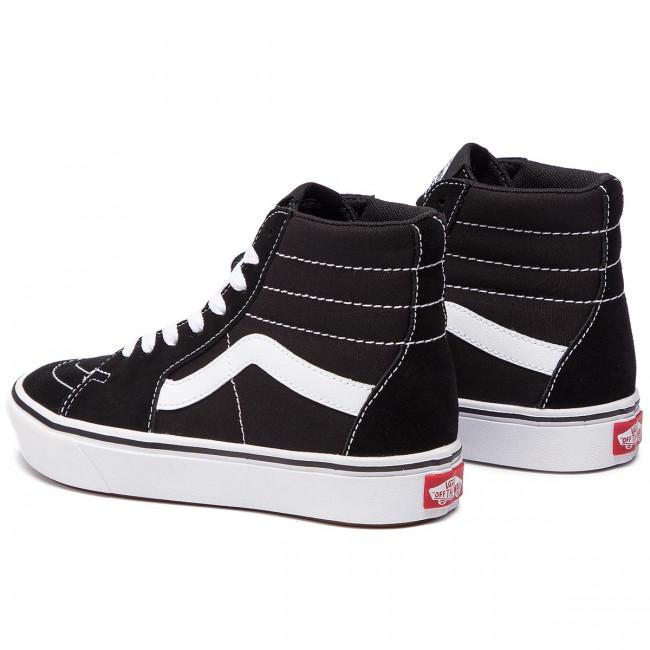 32% Sale Vans Ua Comfycush Sk8 Hi, (Classic) BlackTrue