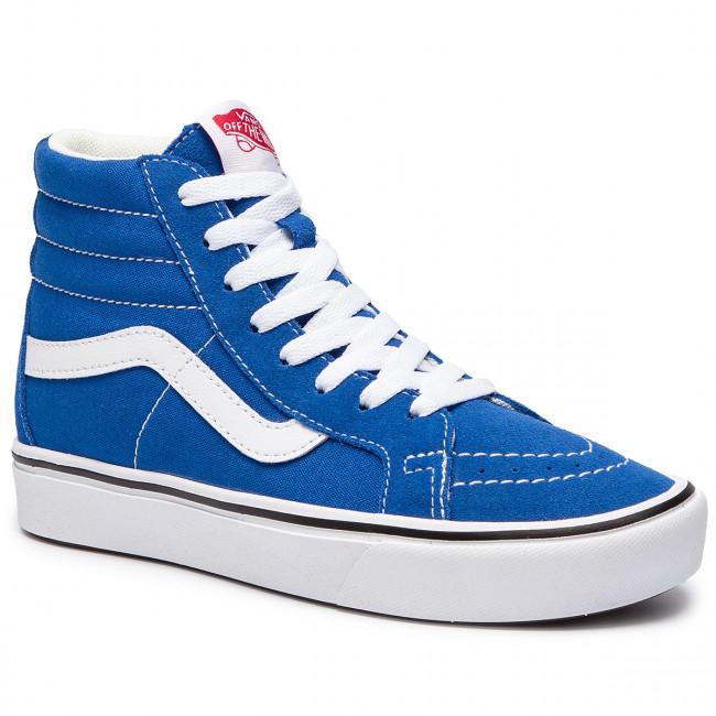 Sneakers VANS - Comfycush Sk8-H VN0A3WMCVO11 (Suede/Canvas) Lapis Blue