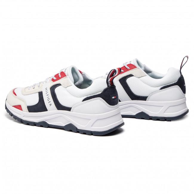Sneakers TOMMY HILFIGER Fashion Mix Sneaker FM0FM02027 Rwb 020
