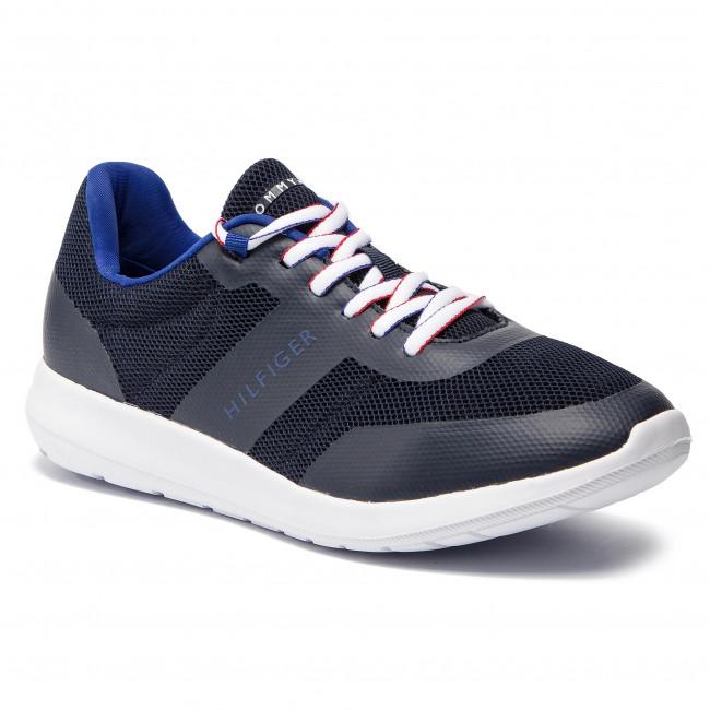 Sneakers TOMMY HILFIGER - Core Lightweight Mesh Runner FM0FM02183 Midnight 403