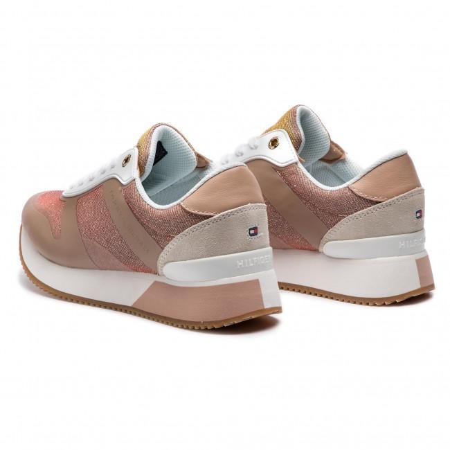 587f6de73a522 Sneakers TOMMY HILFIGER - Glitter City Sneaker FW0FW03772 Monrovia 716