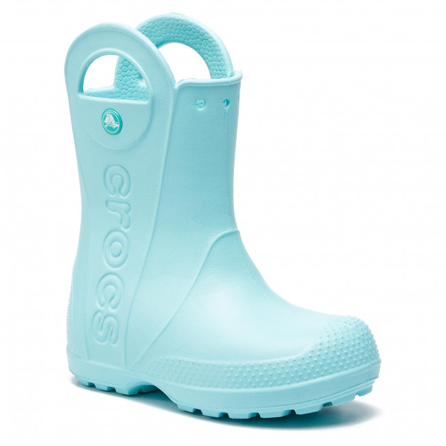 Wellingtons CROCS - Handle It Rain Boot Kids 12803 Ice Blue