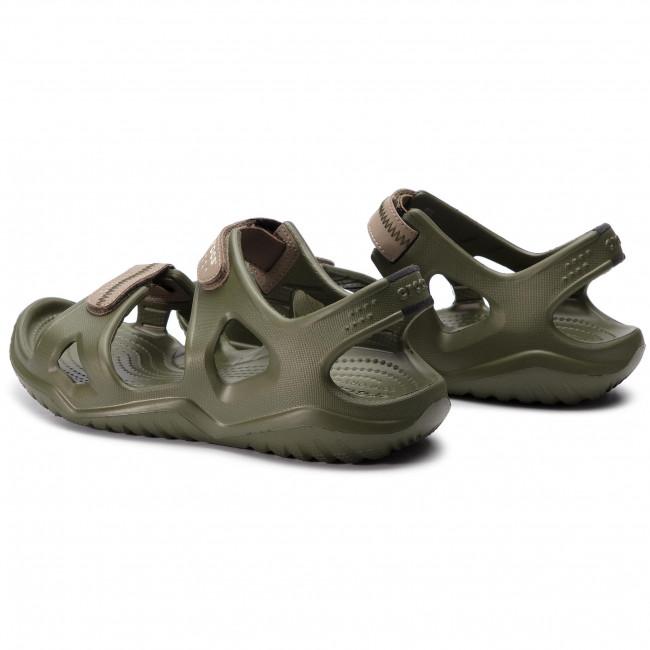 Sandals CROCS Swiftwater River Sandal M 203965 Army GreenKhaki