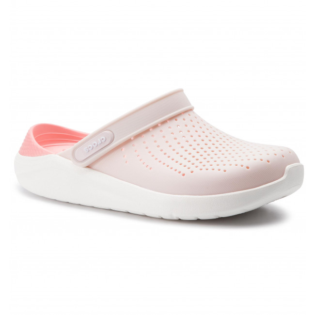 Literide Clog 204592 Barely Pink/White