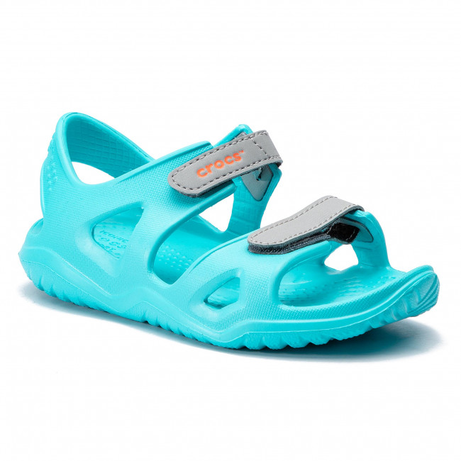 Sandals CROCS Swiftwater River Sandal K 204988 Pool