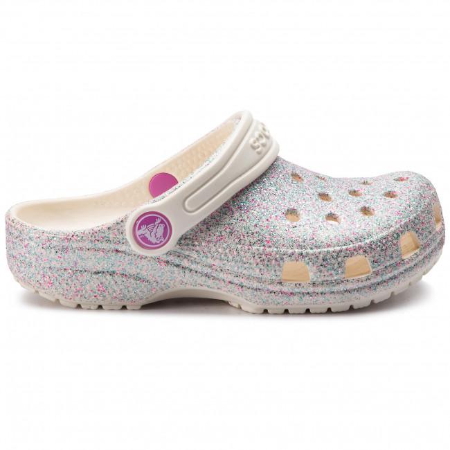 Crocs Kinder Schuhe Classic Glitter Clog 205441