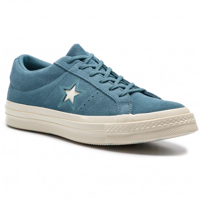 Converse One Star Ox shoes blue