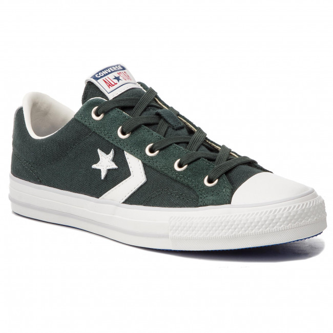 cbee65d6 Sneakers CONVERSE - Star Player Ox 163961C Outdoor Green/Whit - Sneakers -  Low shoes - Women's shoes - efootwear.eu