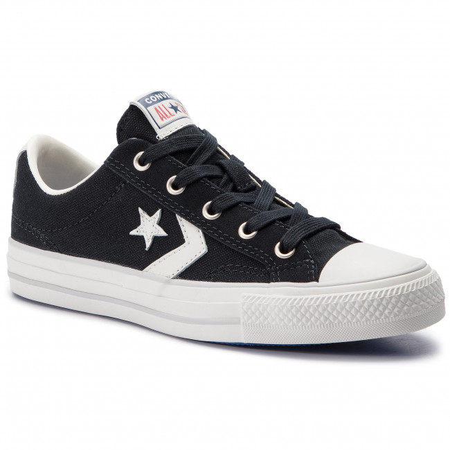 Sneakers CONVERSE - Star Player Ox Bla 163964C Black/Vintage Whit