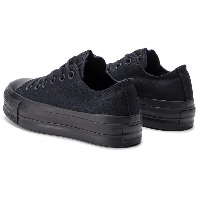 Sneakers CONVERSE Ctas Clean Lift Ox 562926C BlackBlack