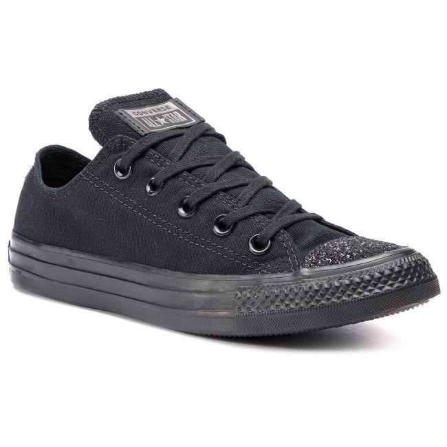 Sneakers CONVERSE Ctas Ox 563465C BlackBlackSilver