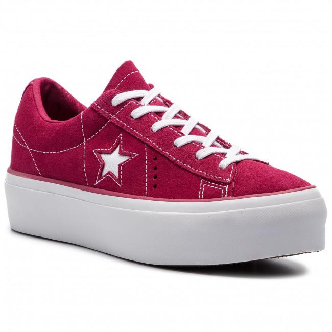 Sneakers CONVERSE One Star Platform Ox 563488C Rhubarb