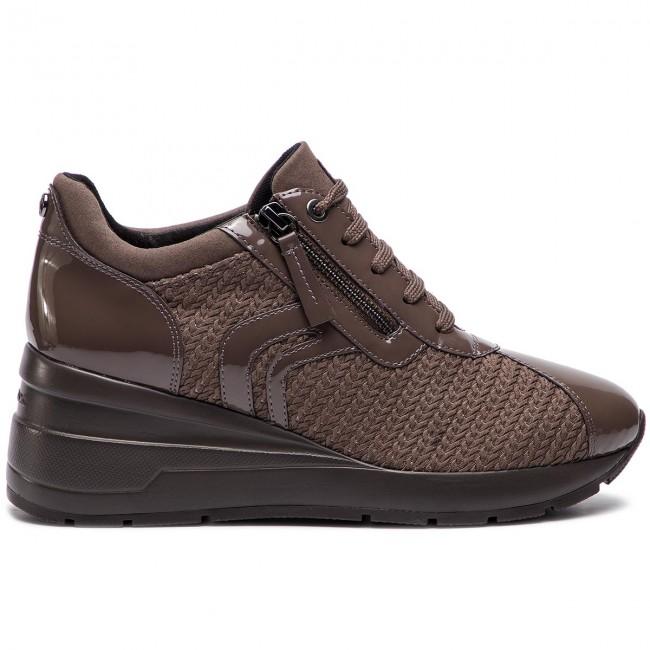 Sneakers GEOX D Zosma A D848LA 0AS66 C6004 Chestnut xMNPn