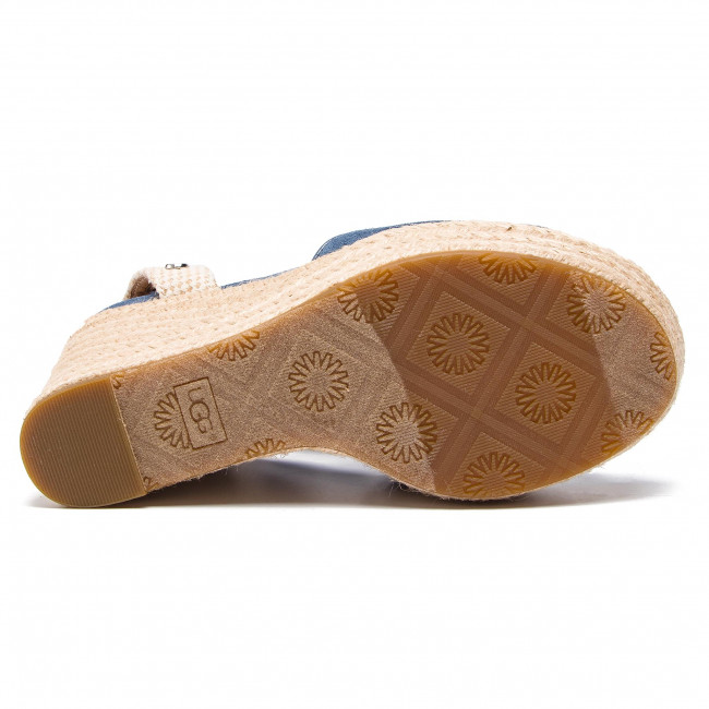 Espadrilles Ugg - W Shiloh 1100974 W/dtb Mules And Sandals Women's Shoes
