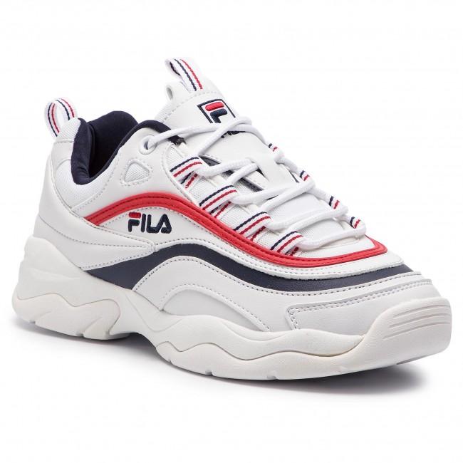 Sneakers FILA - Ray Low Wmn 1010562.150 White/Fila Navy/Fila Red