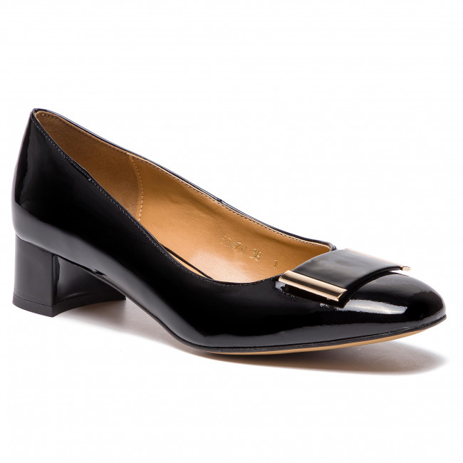 Lima ozono inundar  Shoes SAGAN - 3478 Czarny Lakier - Pumps - Low shoes - Women's shoes    efootwear.eu