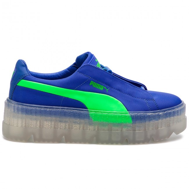 Sneakers PUMA Cleated Creeper Surf Wns 367681 01 Dazzling BlueGreen Gecko