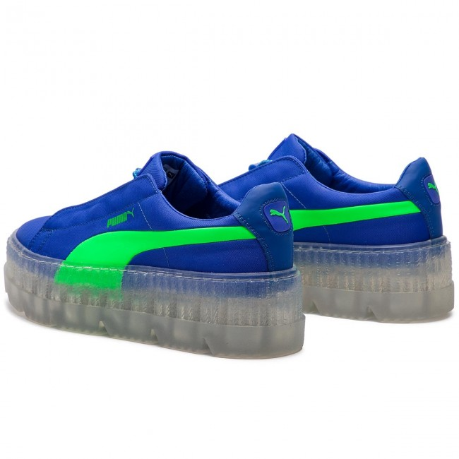 save off 53658 87756 Sneakers PUMA - Cleated Creeper Surf Wns 367681 01 Dazzling Blue/Green Gecko