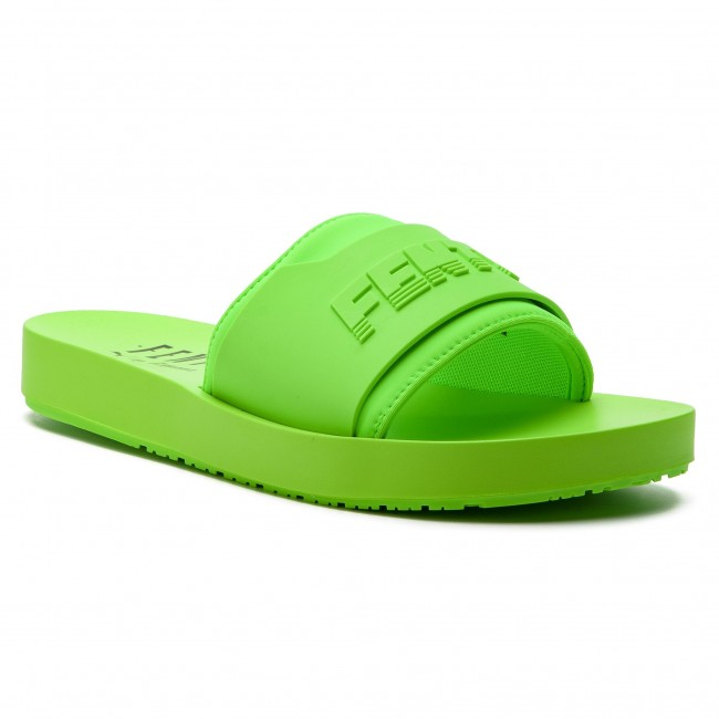huge discount 21450 788a3 Slides PUMA - Fenty Surf Slide Wns 367747 04 Green Gecko/Green Gecko