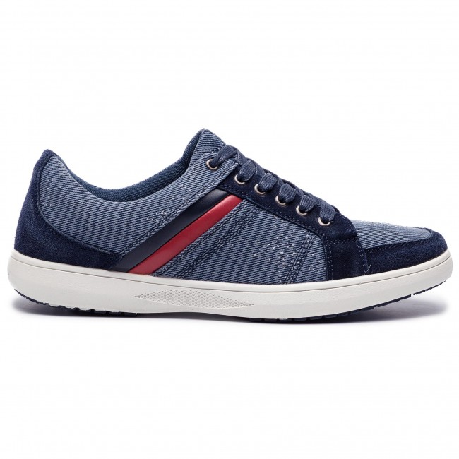Sneakers GINO ROSSI - Salado MP2665-TWO-TKBW-5357-T 55/59 - Sneakers - Low shoes - Men's shoes