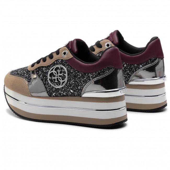 Sneakers GUESS Hinders4 FL7HN4 FAM12 BORDE