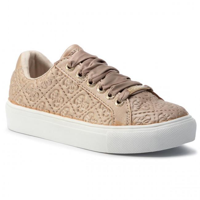 Arne Screech wait  Sneakers GUESS - FI7MIS FAL12 BROWN - Laced shoes - Low shoes - Girl - Kids'  shoes   efootwear.eu