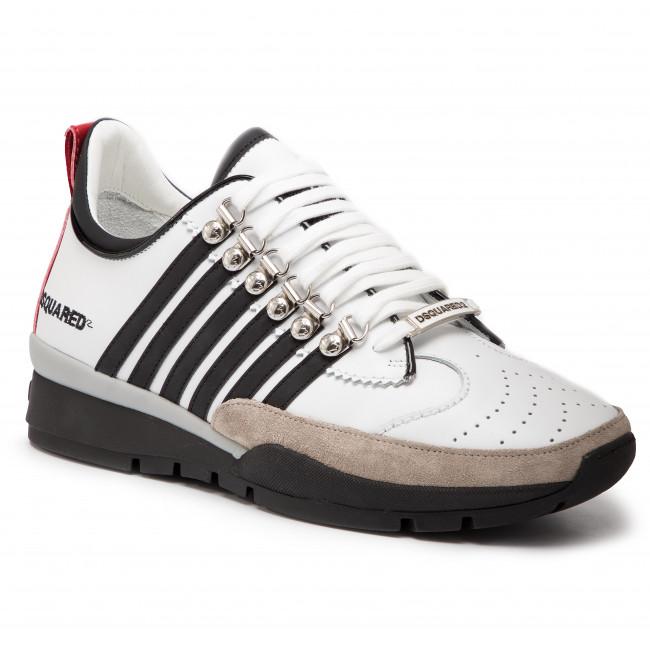 11570001 M072 Bianco/Nero - Sneakers