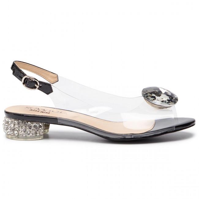 Sandals Sca'viola - G-15 Black Elegant Mules And Women's Shoes