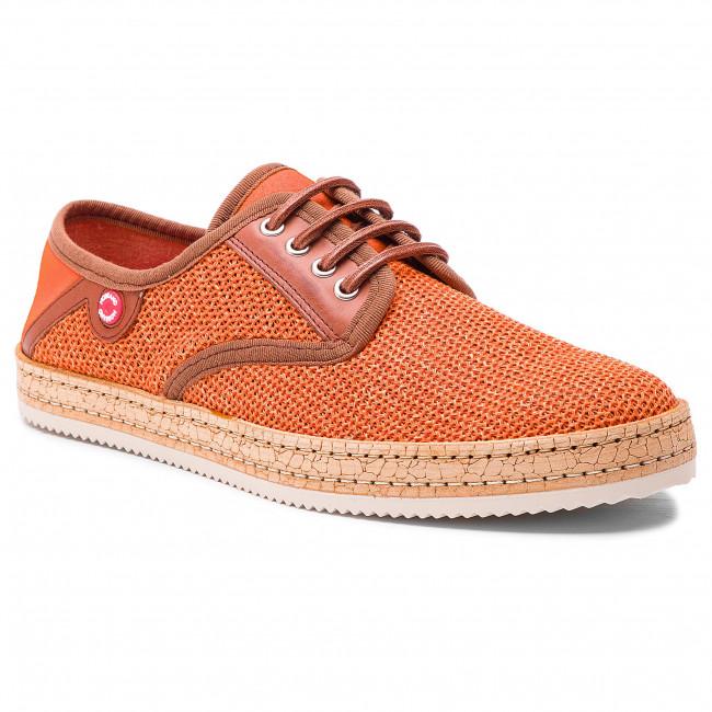 Shoes NOBRAND - Bluish 2 9629-3 Orange/Cognac