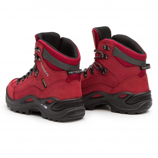 86c429ef988 Trekker Boots LOWA - Renegade Gtx Mid Ws GORE-TEX 320945 Chili 0343