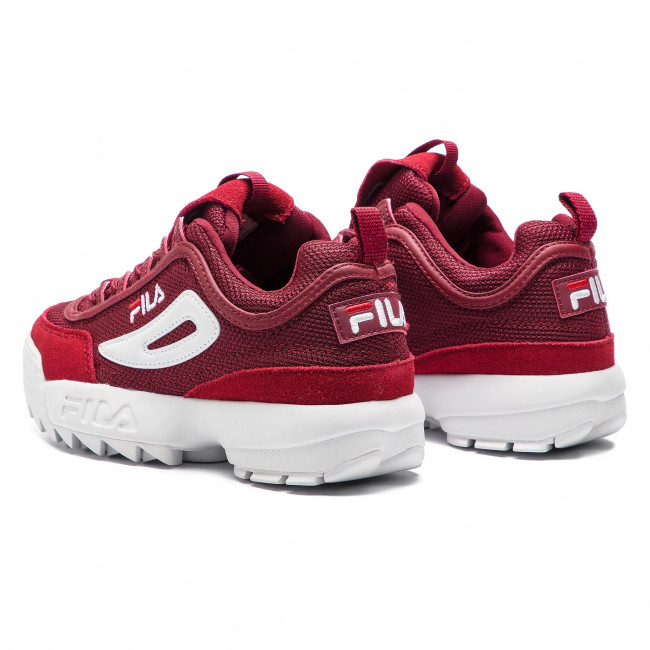 Sneakers FILA Disruptor Mesh Low Wmn 1010438.40K Marsala