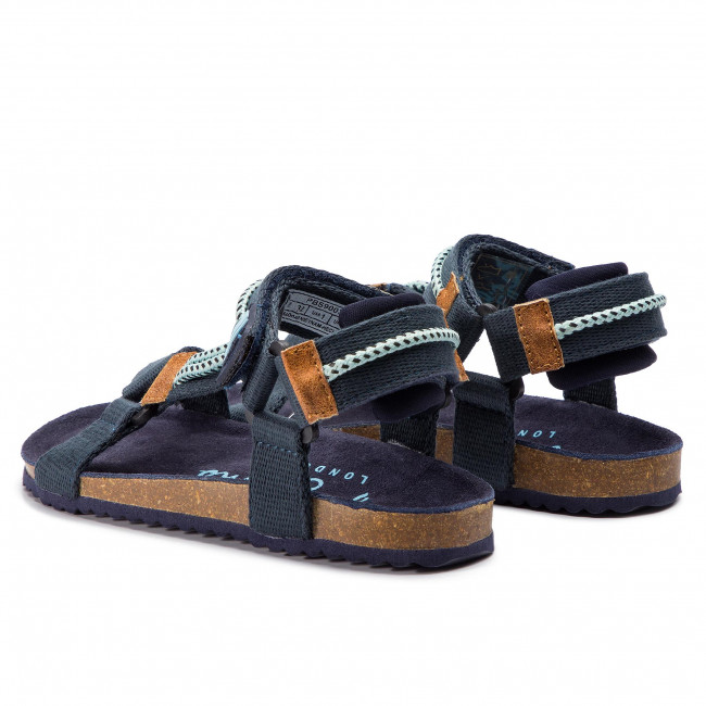 Sandals PEPE JEANS Bio Ropes PBS90034 Navy 595