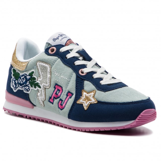 PGS30392000 Pepe Jeans Sydney Patches Size: 39.0 EUR Color: Blue