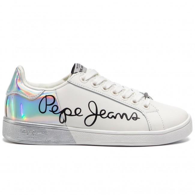 Sneakers PEPE JEANS Brompton Mania PLS30864 White 800