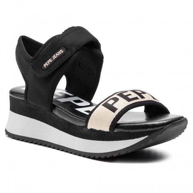 online store 08d0e ec5b9 Sandals PEPE JEANS - Fuji Mania PLS90394 Black 999