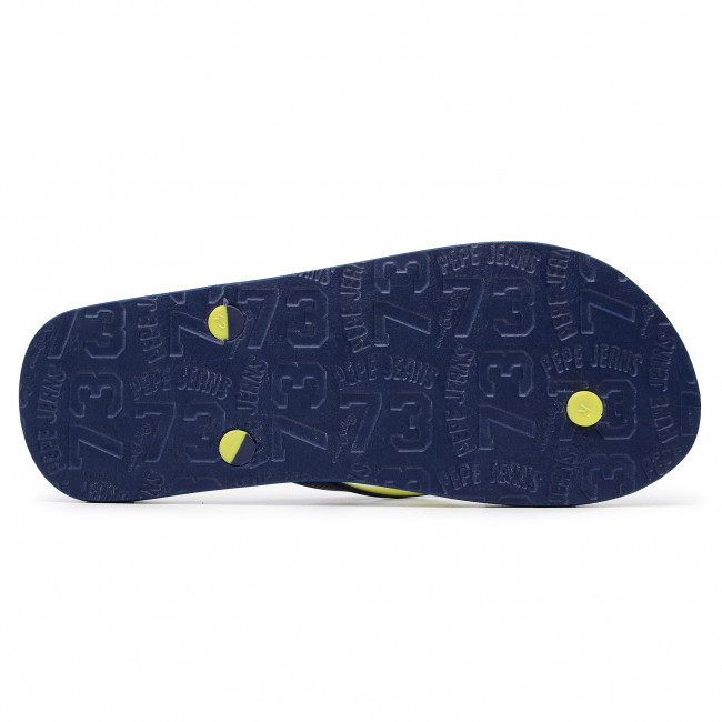 Slides PEPE JEANS - Hawi Lume PMS70074 Navy 595 - Flip-flops - Mules and sandals - Men's shoes