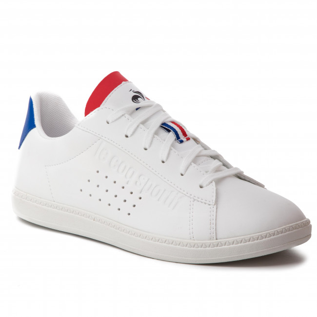 Sneakers LE COQ SPORTIF - Courtset Gs Sport 1910310 Optical White/Cobalt