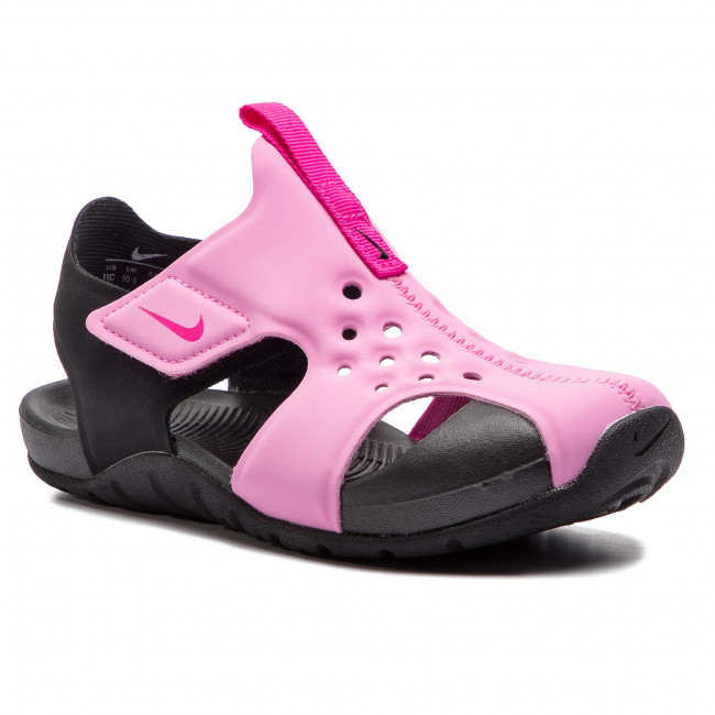 Sandals NIKE Sunray Protect 2 (PS) 943826 602 Psychic PinkLaser Fuchsia