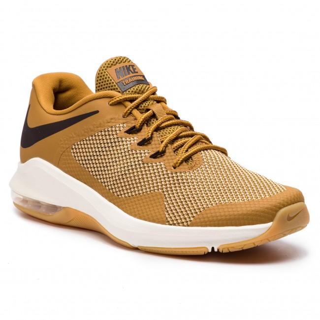 Shoes NIKE Air Max Alpha Trainer AA7060 700 WheatVelvet BrownClub Gold