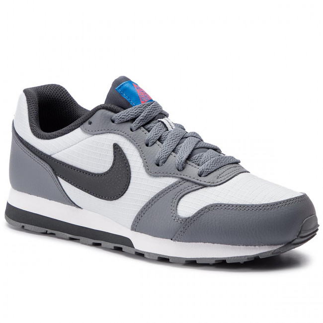 Shoes NIKE Md Runner 2 (GS) 807316 015 Pure PlatinumAnthracite