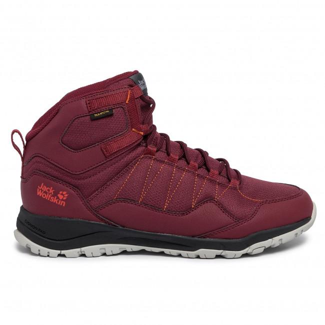 Sneakers JACK WOLFSKIN Maze Texapore Mid W 4035651 BurgundyPhantom