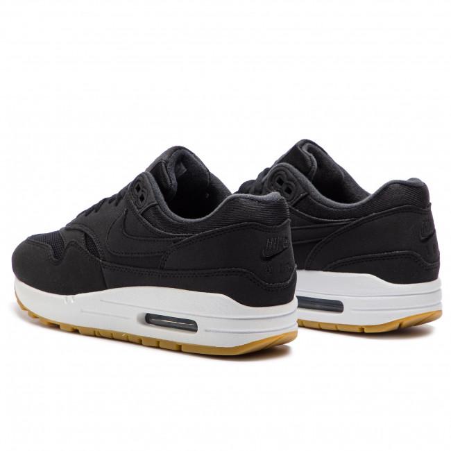 Shoes NIKE Air Max 1 319986 037 BlackBlack GumLight Brown