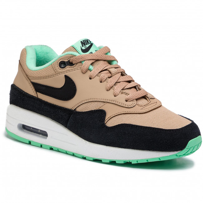 biggest discount new lower prices good Shoes NIKE - Air Max 1 319986 206 Desert/Black-Green Glow-White